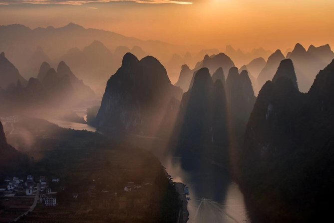 Half-Day Yangshuo Xianggong Mountain Sunrsie Private Tour from GUILIN hotel photo 4