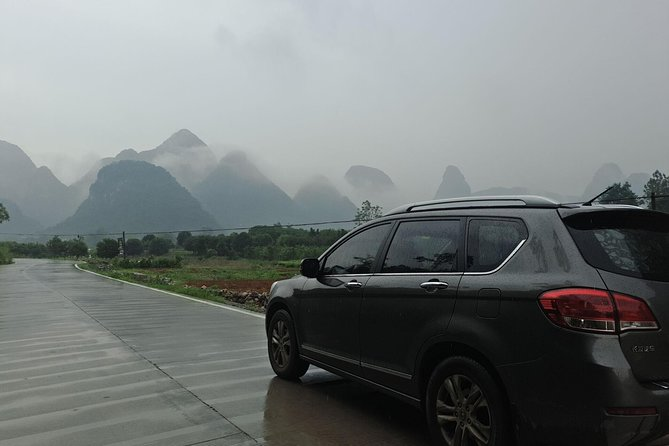 Private Transfer from Yangshuo Hotel to Guilin airport (KWL)