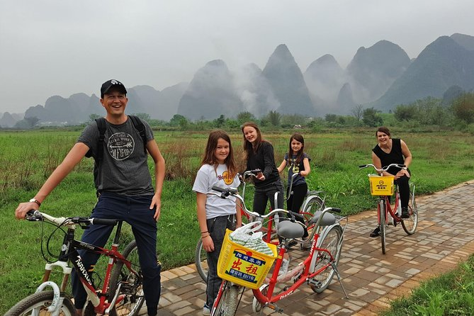 Half/Full-Day Yangshuo Countryside Moderate Cycling and Sightseeing Private Tour