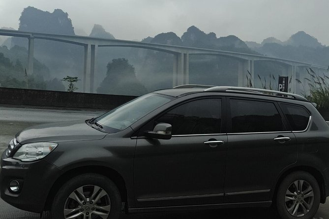 Private transfer from Zhangjiajie(Wulingyuan) to Changsha area