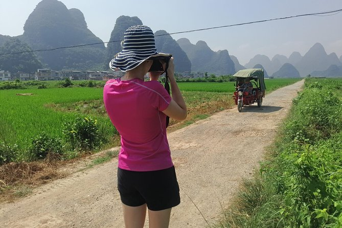 1 Day Yangshuo Countryside Hiking along the Yulong river Private Tour