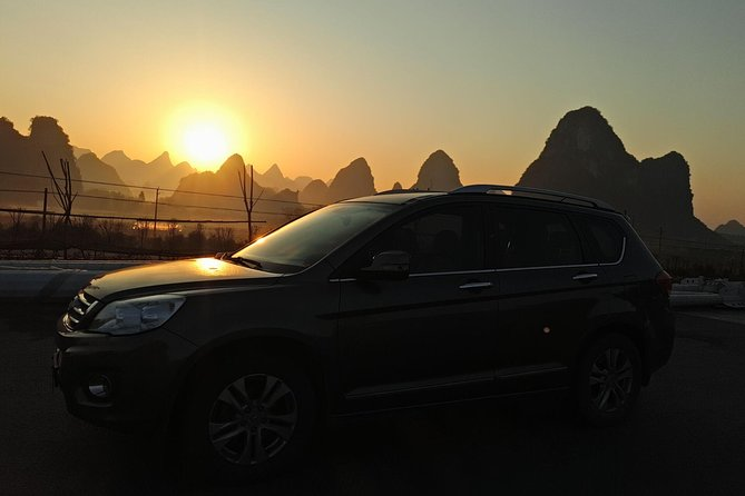 Private Transfer from Guilin to Fenghuang and stops at Hongjiang