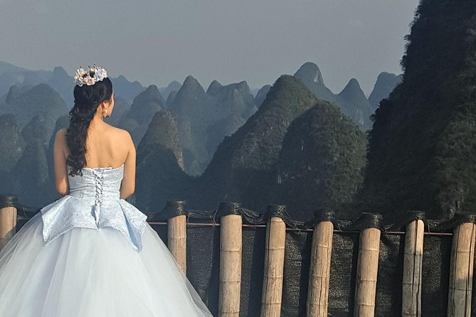 Yangshuo Xianggong Hill and Longji Rice Terraces Private Day Tour