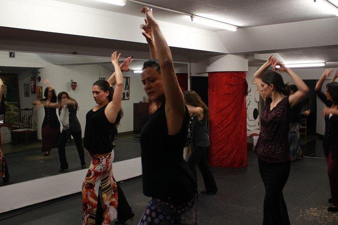 Clase privada de flamenco en San Sebastián