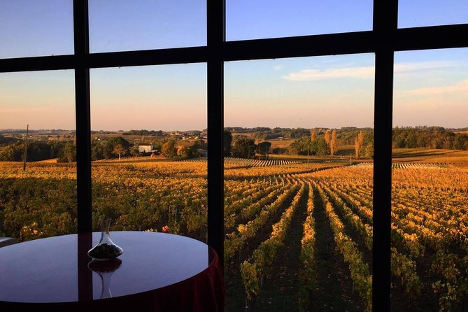 Bordeaux wineries visit with tasting from San Sebastian