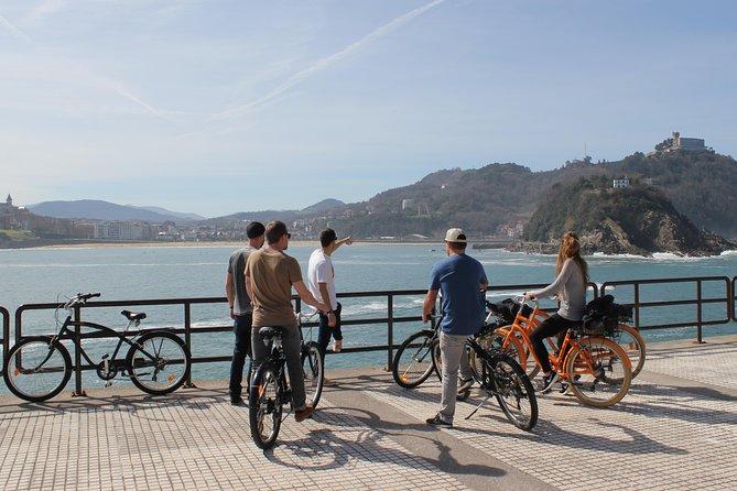 Recorrido en bicicleta por San Sebastián