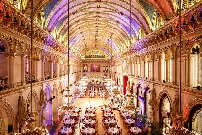 New Year's Eve Gala in Vienna City Hall's Grand Ballroom
