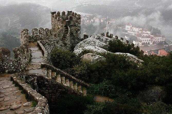 Sintra - Palacio de la Pena y Castillo de los Moros.