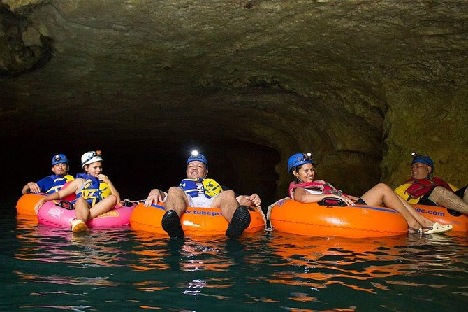 Cave Tubing & Zipline Adventure with Lunch