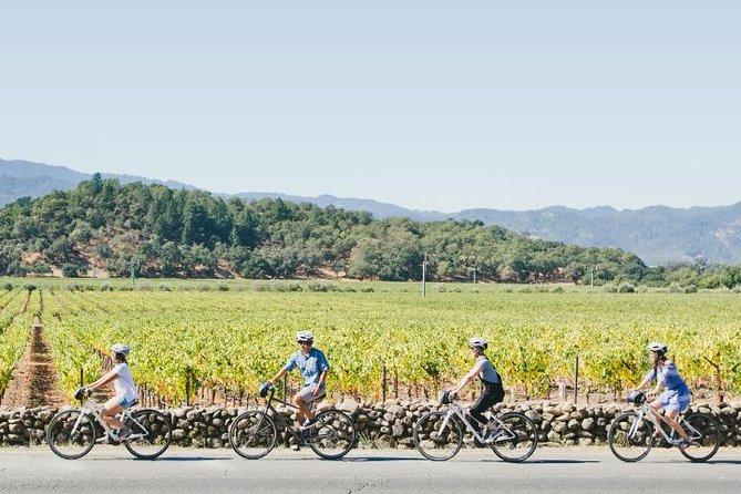 Half-Day Napa Valley Bike + Wine Tour