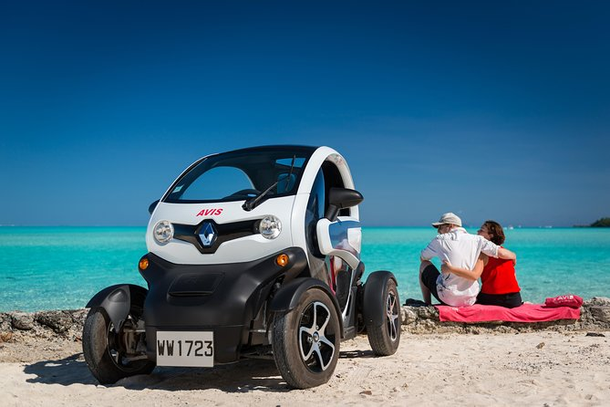 Full-Day Private Bora Bora Electric Car Rental