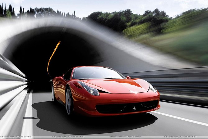 Ferrari Test Drive Experience with Tunnel (15km)