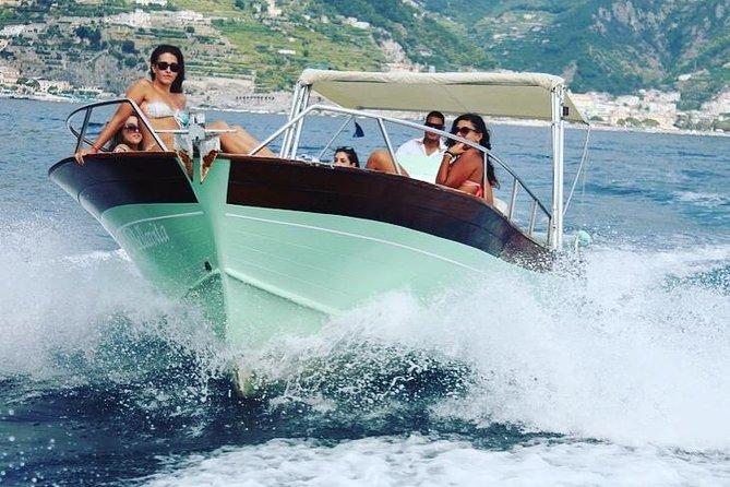 Amalfi Coast By Gozzo Boat From Maiori: Private Tour: Triphobo