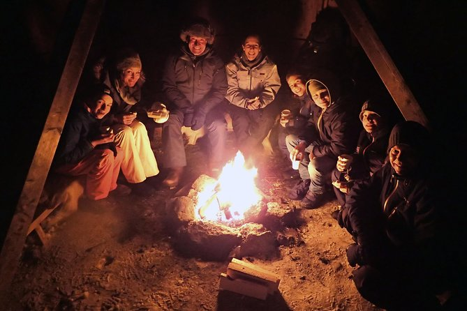 Snowshoe trip with a campfire in Tromso photo 1
