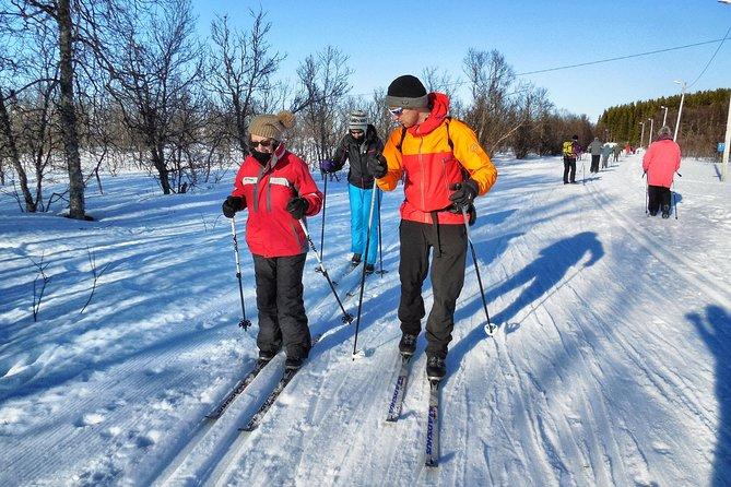 Cross-country skiles voor beginners in Tromsø