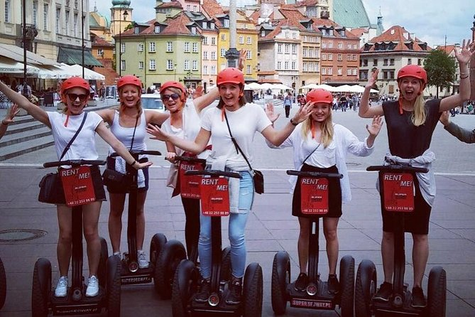 2 Hour Super Segway City Tour of Warsaw