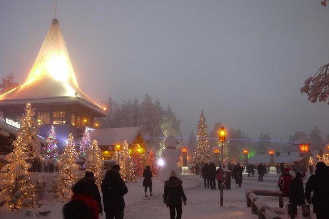 Private Rovaniemi Snowmobile Tour: Visit a Reindeer Farm and Meet Santa
