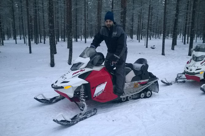 Snowmobile Safari and Ice Fishing Experience from Rovaniemi