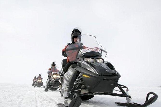 Snowmobile Safari to Reindeer Farm from Ruka including Reindeer Sleigh Ride