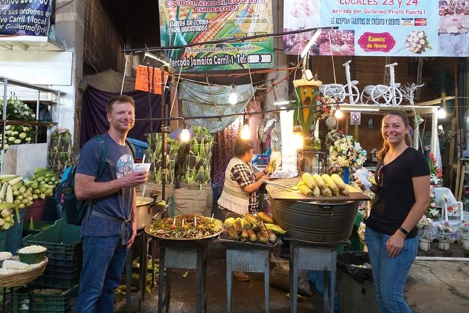 Mexico's Real Markets: Food Tasting Experience