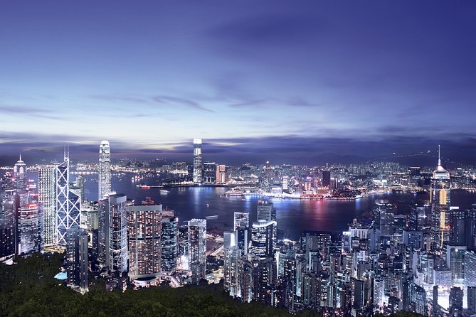 Night View from the Victoria Peak