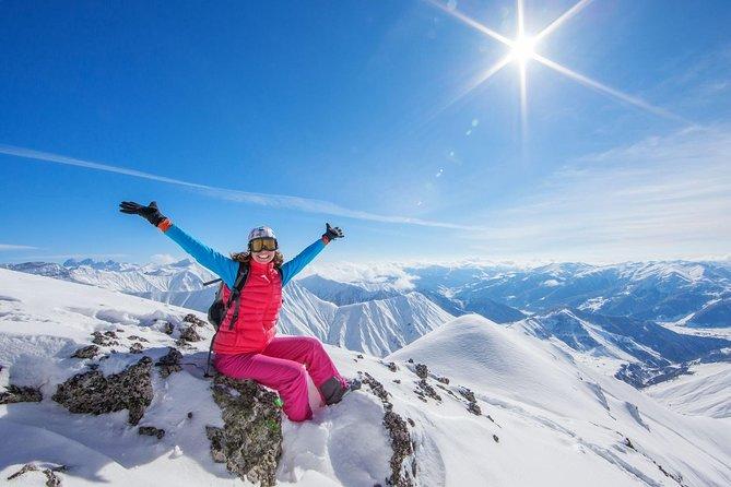 Full day Ski trip in Gudauri ski resort