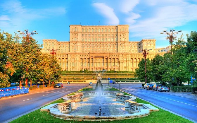 Bucharest one day tour with Parliament Palace and Village Museum
