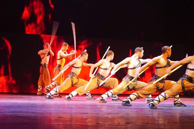 Beijing Kung Fu Night Show and Roast Duck Dinner with Private Transfer and guide