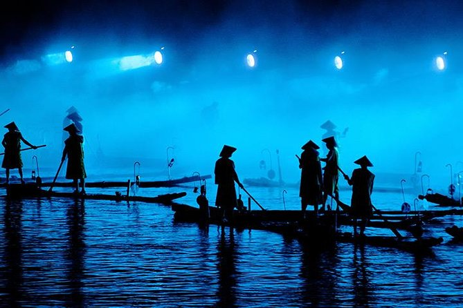 Private Tour Of Yangshuo Rural Village and Performance of The Impression Sanjie Liu Evening Light Show From Guilin
