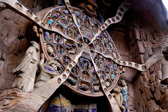 Chongqing Private Tour: Full Day to Dazu Rock Carvings and Ciqikou Old Town