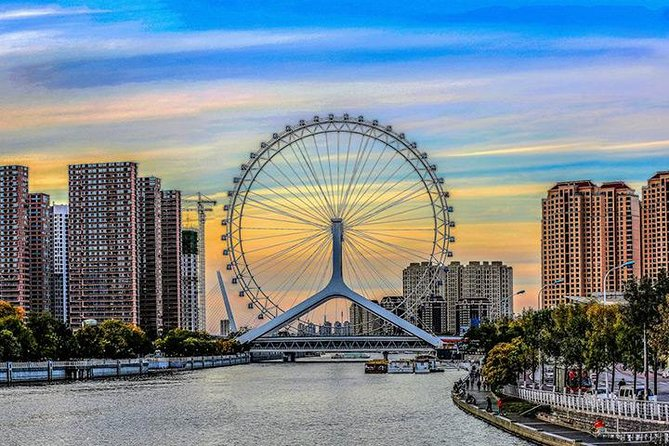 Full Day Private Tianjin City Tour from Beijing by Bullet Train: City Highlights Including Tianjin Eye With Lunch