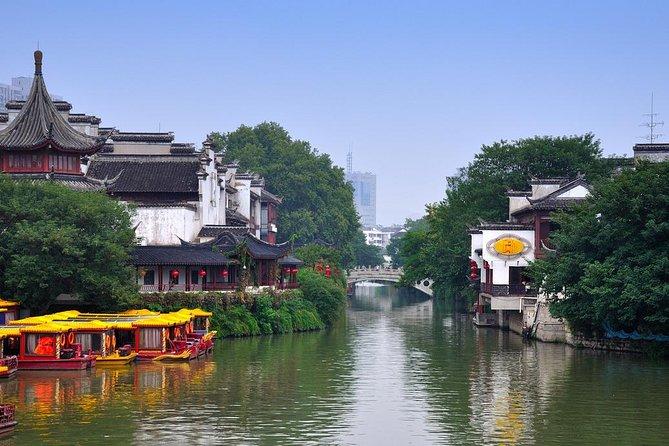4-Hour Nanjing Tour of Xiaoling Tomb, Sun Yet-sen Mausoleum and Fu Zi Market