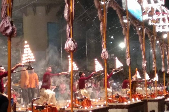 Ganges Ceremony and Boat ride at Dusk