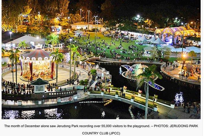Brunei City Night Lights & Jerudong Park Playground 2019