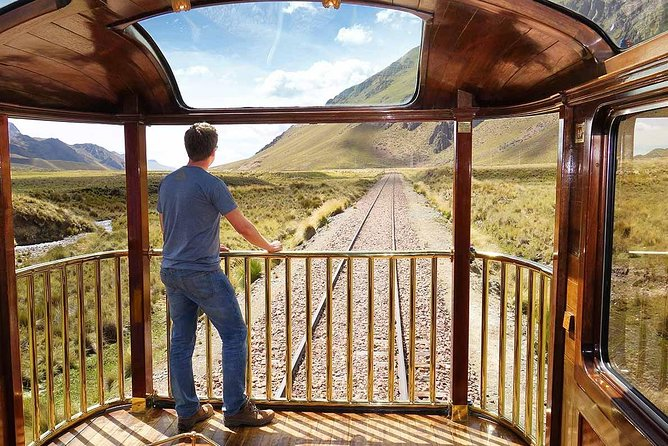 Full day: Luxury train from Cusco to Puno