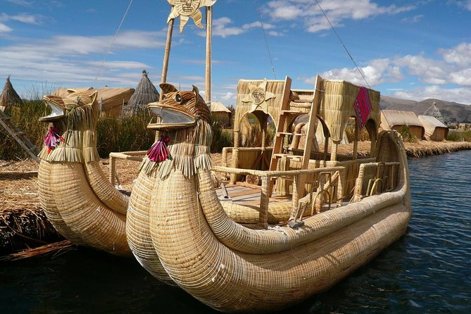 Morning: Uros Floating Islands Tour from Puno