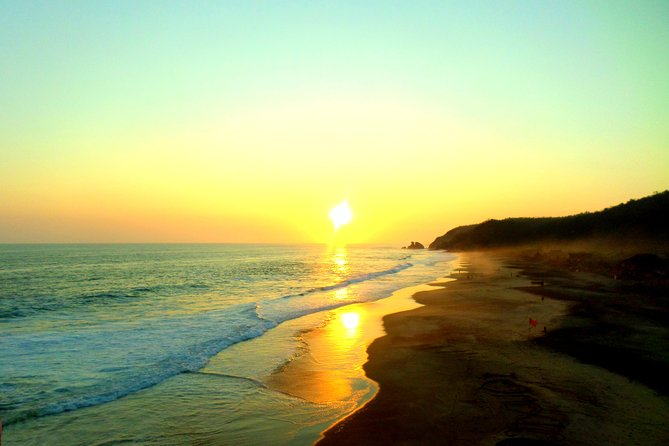 Beach And Sunset In Mazunte Magic Town And Punta Cometa photo 1