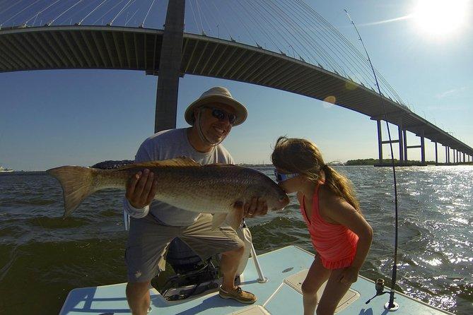 Carta de pesca costera privada de 4 horas en Charleston