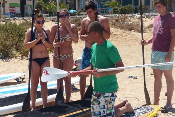 2-Hour Beginners Stand Up Paddle Course in Caleta de Fuste photo 8
