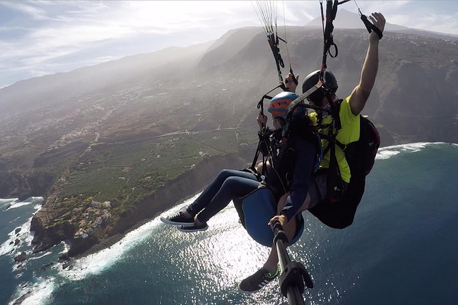Paragliding Tandem Flight in Teide National Park