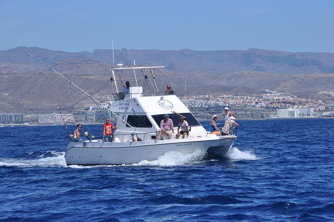 Full-Day Sport Fishing at Puerto Rico in Gran Canaria