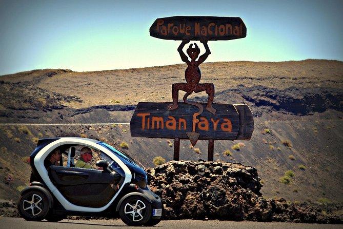 5-hour Timanfaya Twizy Tour