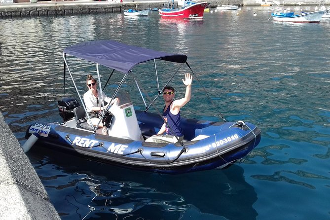 4-hour Boat Rental in La Gomera with no licence required