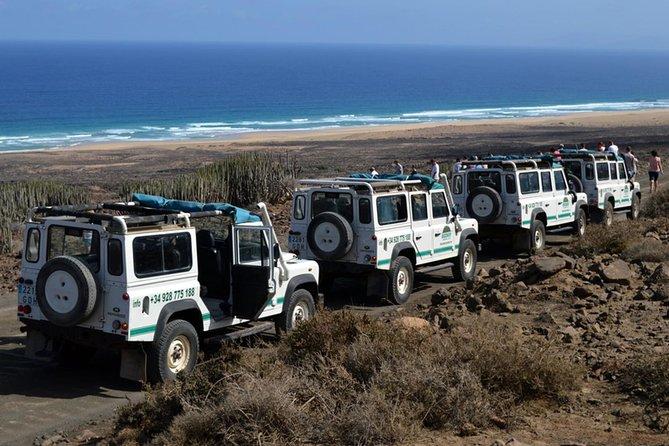 4x4 Jeep Safari Tour in Cofete Beach and Villa Winter
