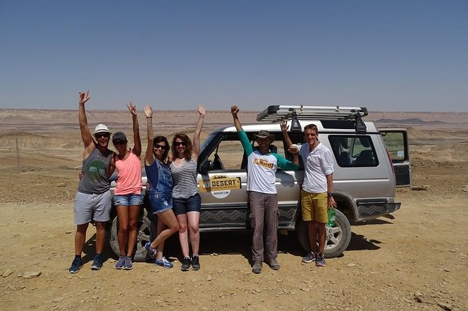 Ramon Crater in a Nutshell 4X4 Tour for Individuals and Small Groups