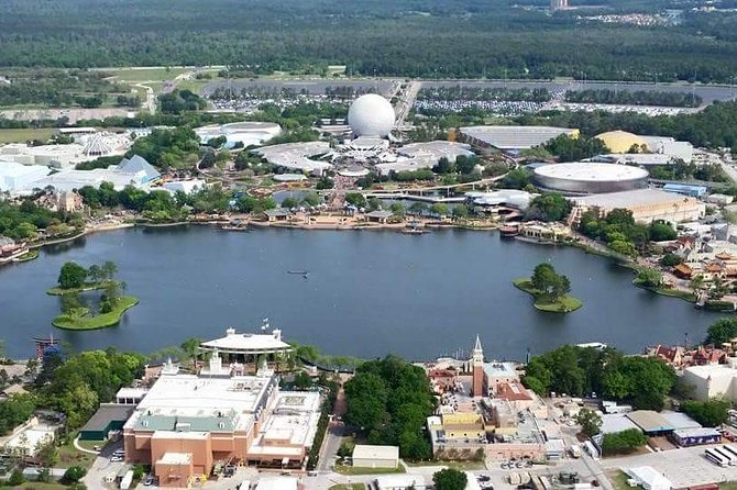 Helicopter Tour over Orlando's Theme Parks
