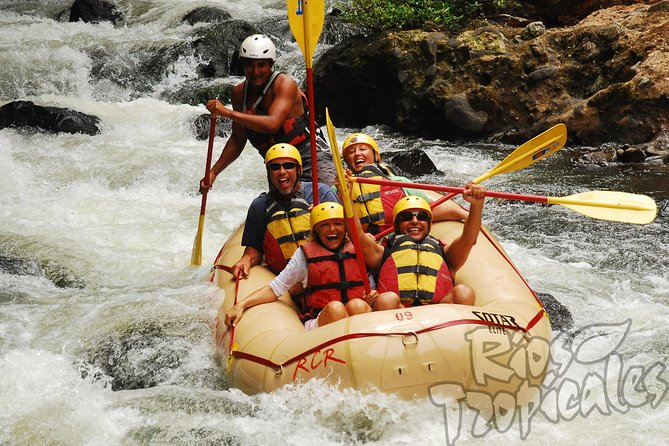Upper Tenorio River White-Water Rafting Tour with Lunch