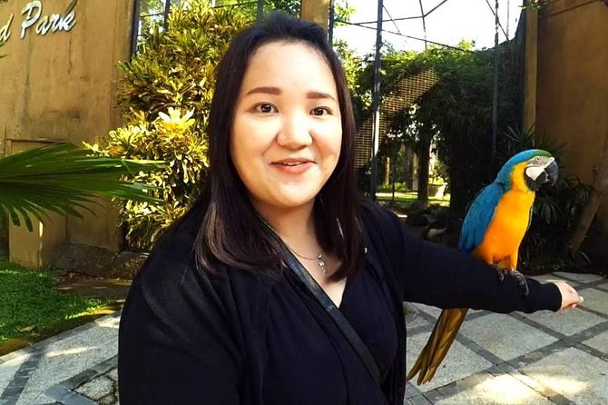 Bali Bird Park with Relaxation Time at Halo Bali Spa