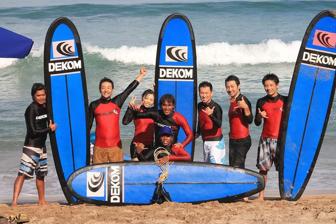 Surfing Lesson by Dekom with Relaxation Time at Grand Inna Kuta Spa