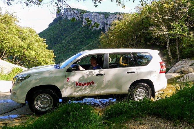 Excursión de un día con safari en jeep en los Pirineos desde Barcelona